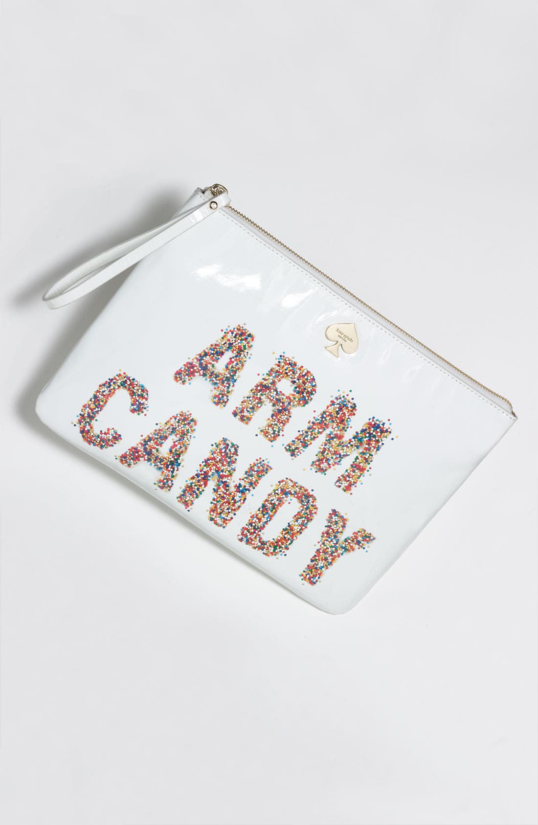 Alternate Image 5  - kate spade new york 'arm candy' leather pouch