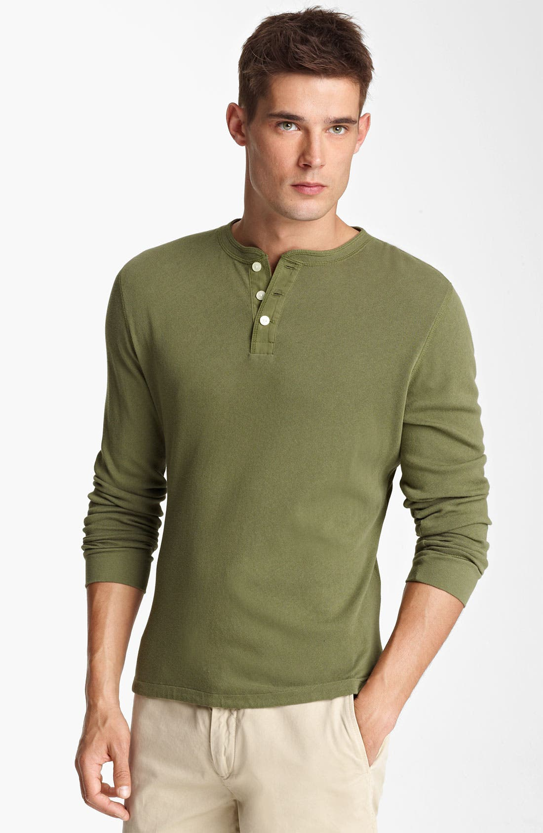 Alternate Image 1 Selected - Jack Spade Cotton Henley