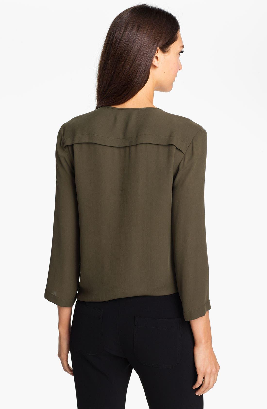 Alternate Image 2  - Theory 'Brundia' Silk Shirt