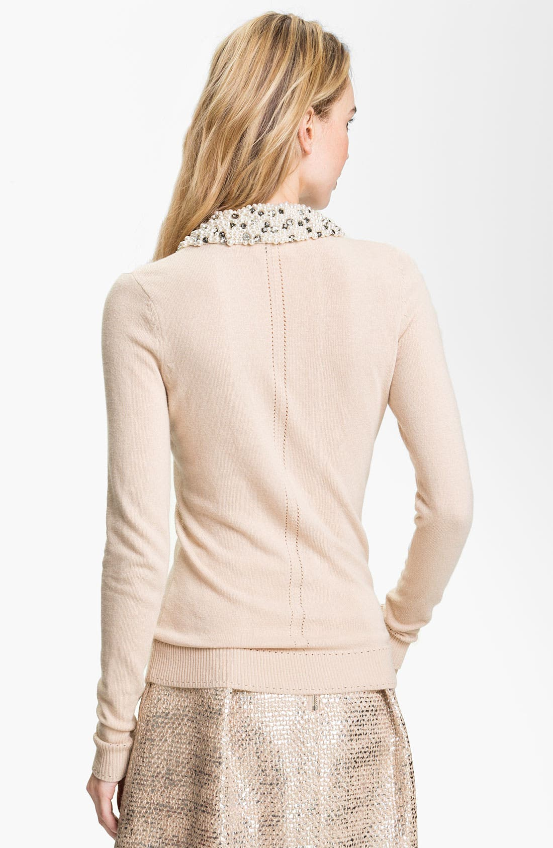 Alternate Image 2  - Milly Embellished Sweater