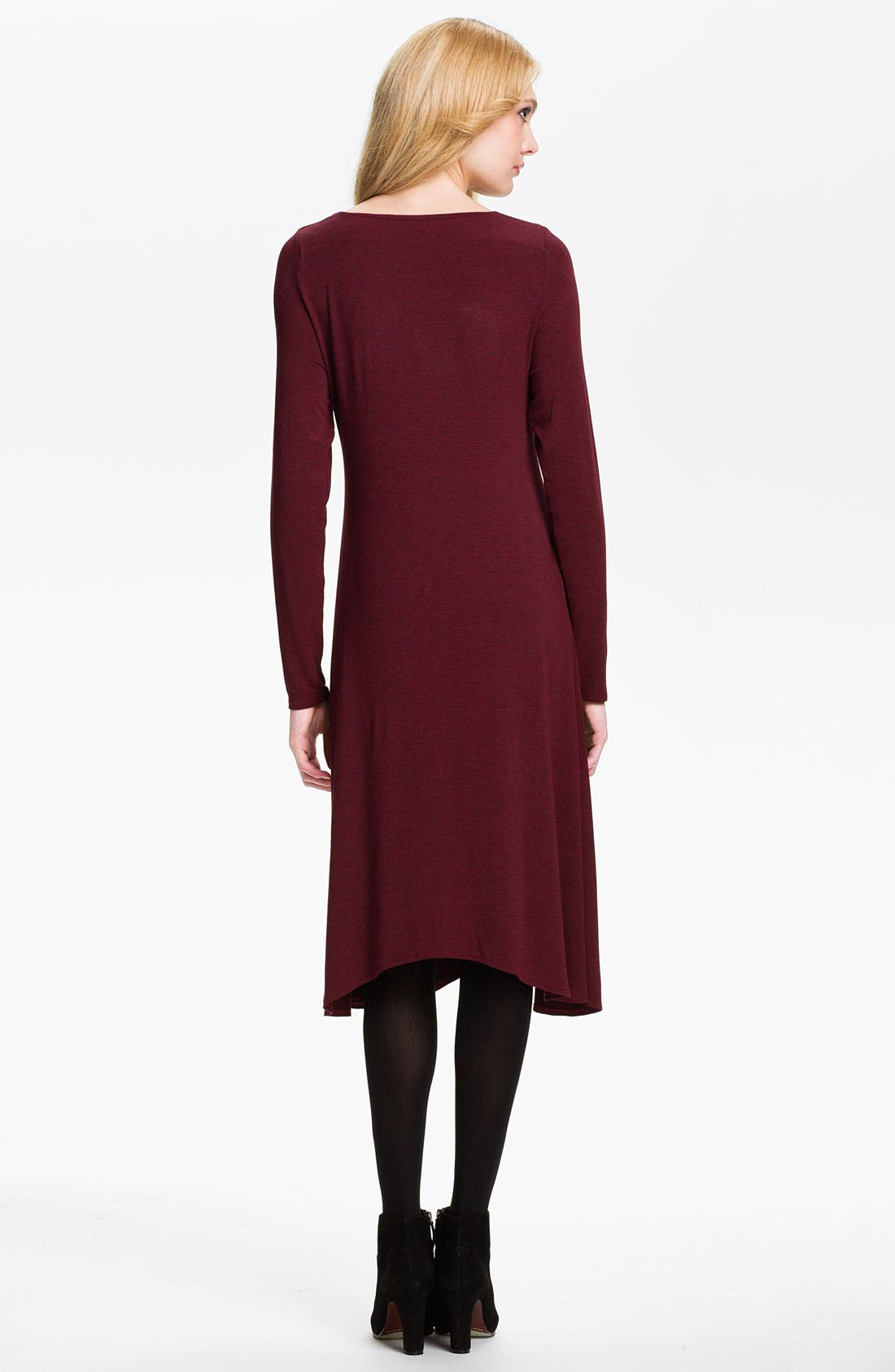 Alternate Image 2  - Eileen Fisher Drape Neck Dress (Online Exclusive)