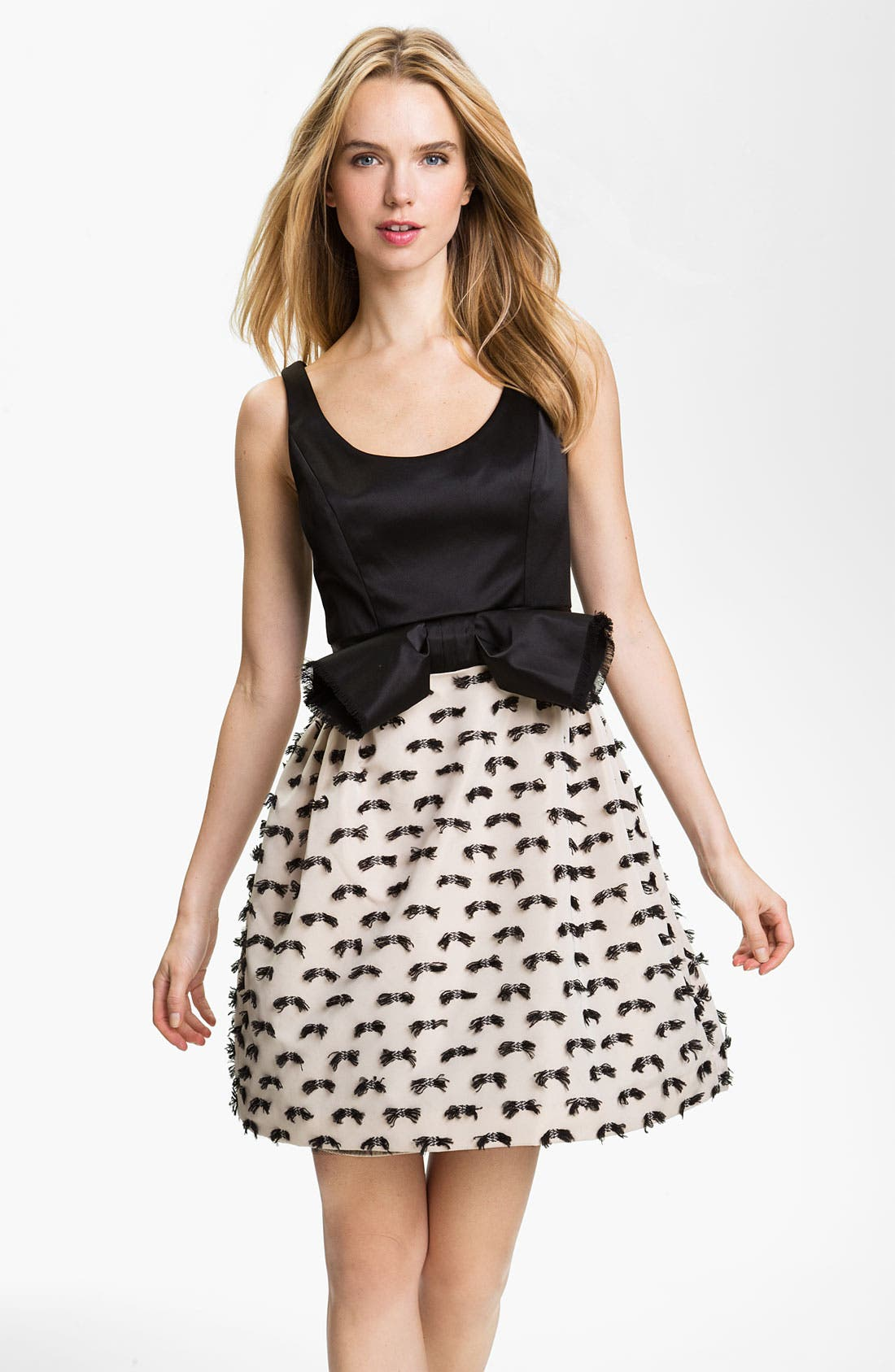 Alternate Image 1 Selected - Milly 'Dominique' Fit & Flare Dress