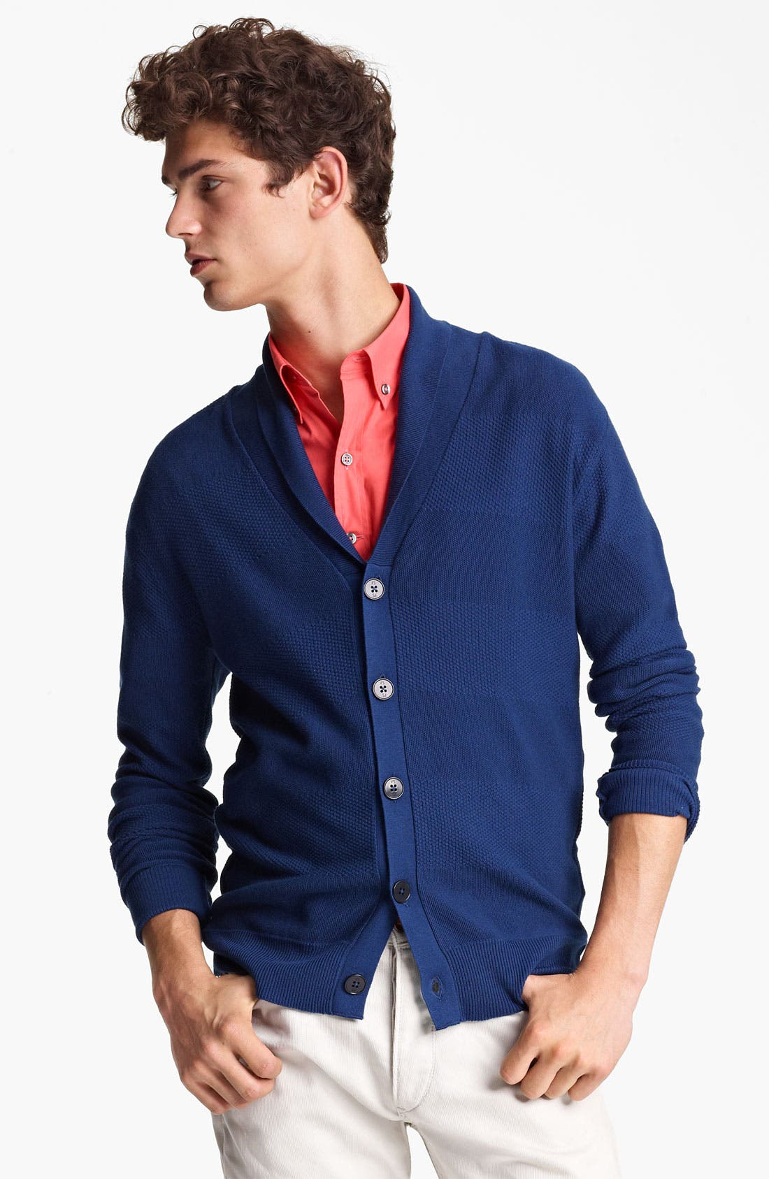 Alternate Image 1 Selected - PS Paul Smith Shawl Cardigan