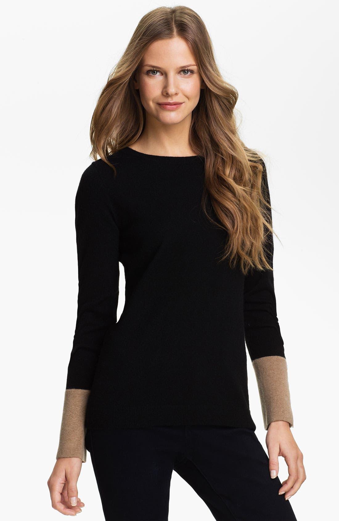 Main Image - Premise Cashmere Crewneck Sweater