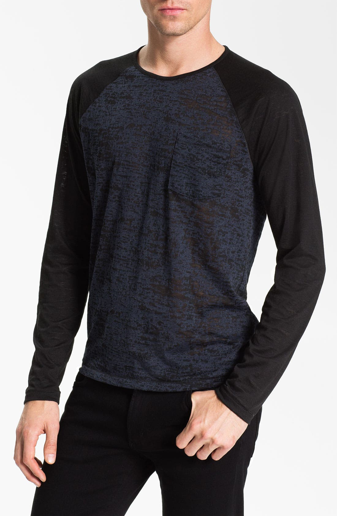 Alternate Image 1 Selected - John Varvatos Star USA Raglan T-Shirt