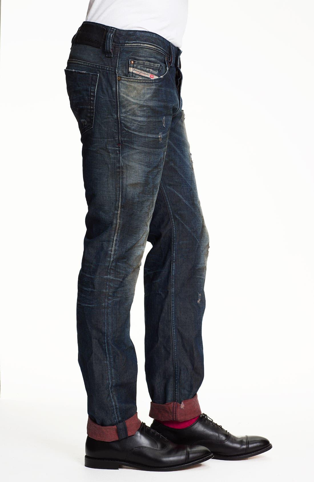 Alternate Image 3  - DIESEL® 'Safado' Straight Leg Jeans (0804K)