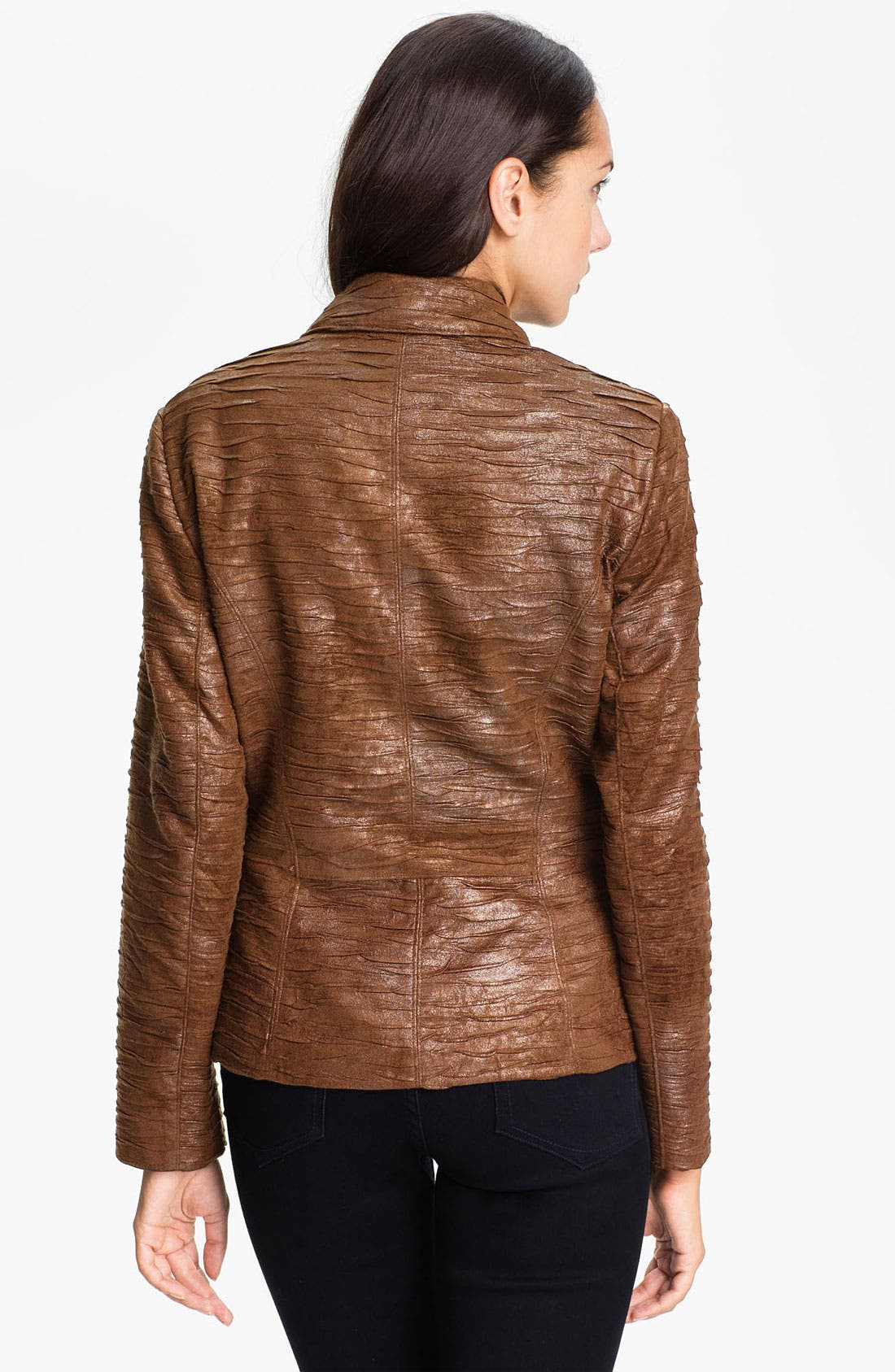 Alternate Image 2  - Conrad C Collection Crushed Faux Suede Jacket