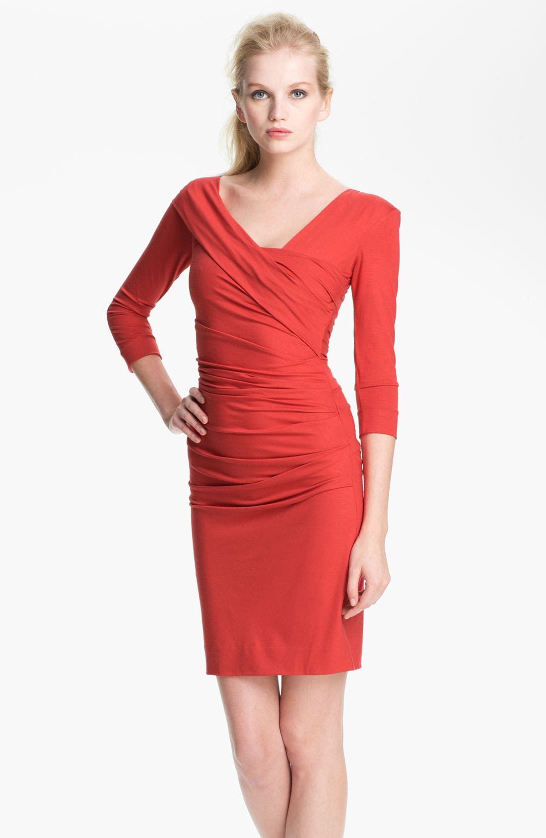 Alternate Image 1 Selected - Diane von Furstenberg 'Bentley' Ruched Dress