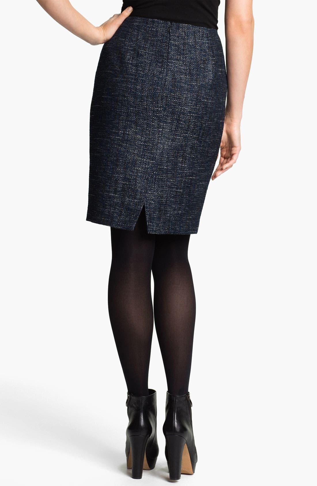 Alternate Image 2  - T Tahari 'Melvina' Tweed Skirt