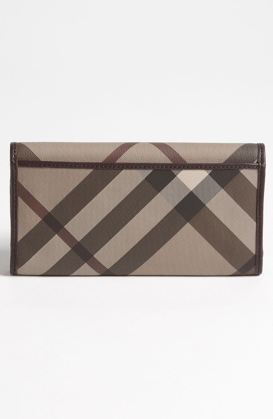 Alternate Image 4  - Burberry 'Smoked Check' Flap Wallet
