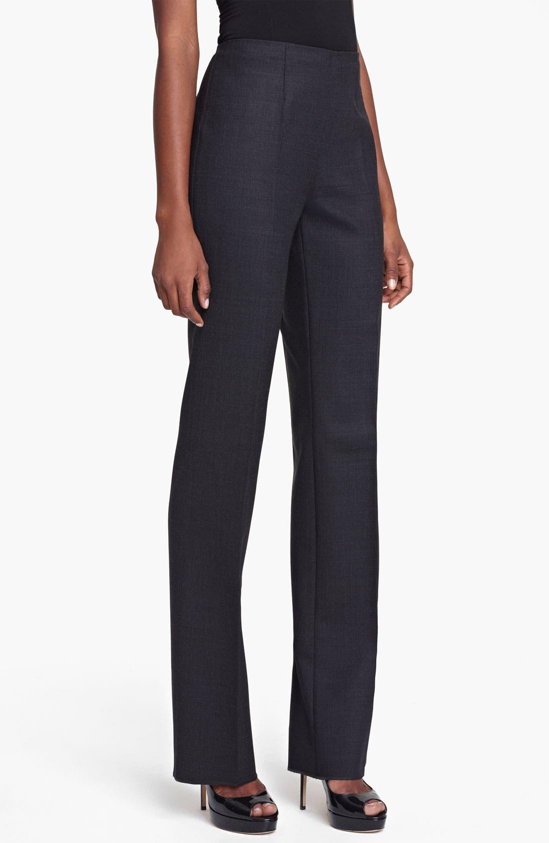 Alternate Image 1 Selected - Max Mara 'Davos' Slim Wool Pants