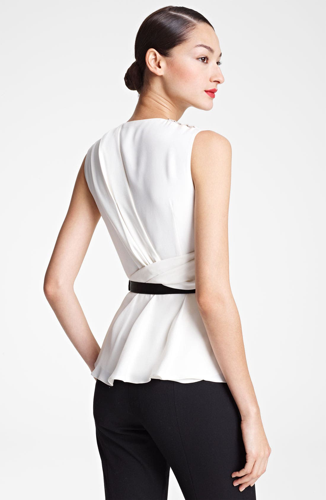 Alternate Image 2  - Jason Wu Draped Silk Blouse