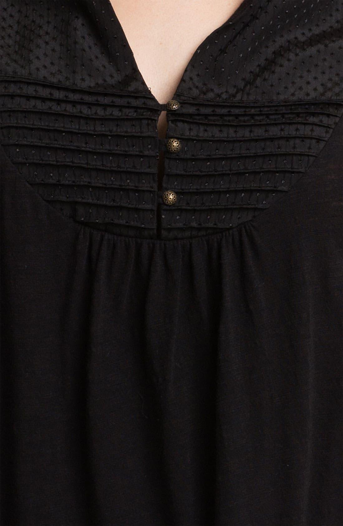 Alternate Image 3  - Lucky Brand 'Lexie' Peasant Top (Plus)