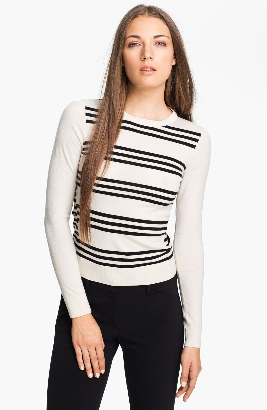 Alternate Image 1 Selected - Theory 'Tommie' Stripe Sweater