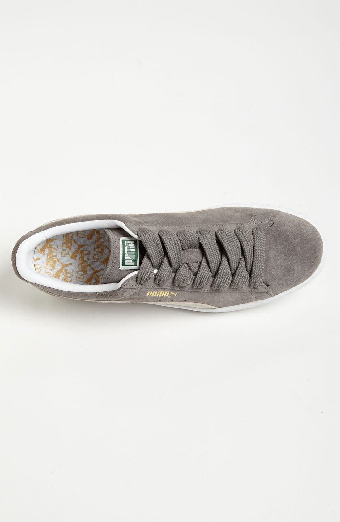 'Classic Eco' Sneaker,                             Alternate thumbnail 4, color,                             Steeple Gray/ White