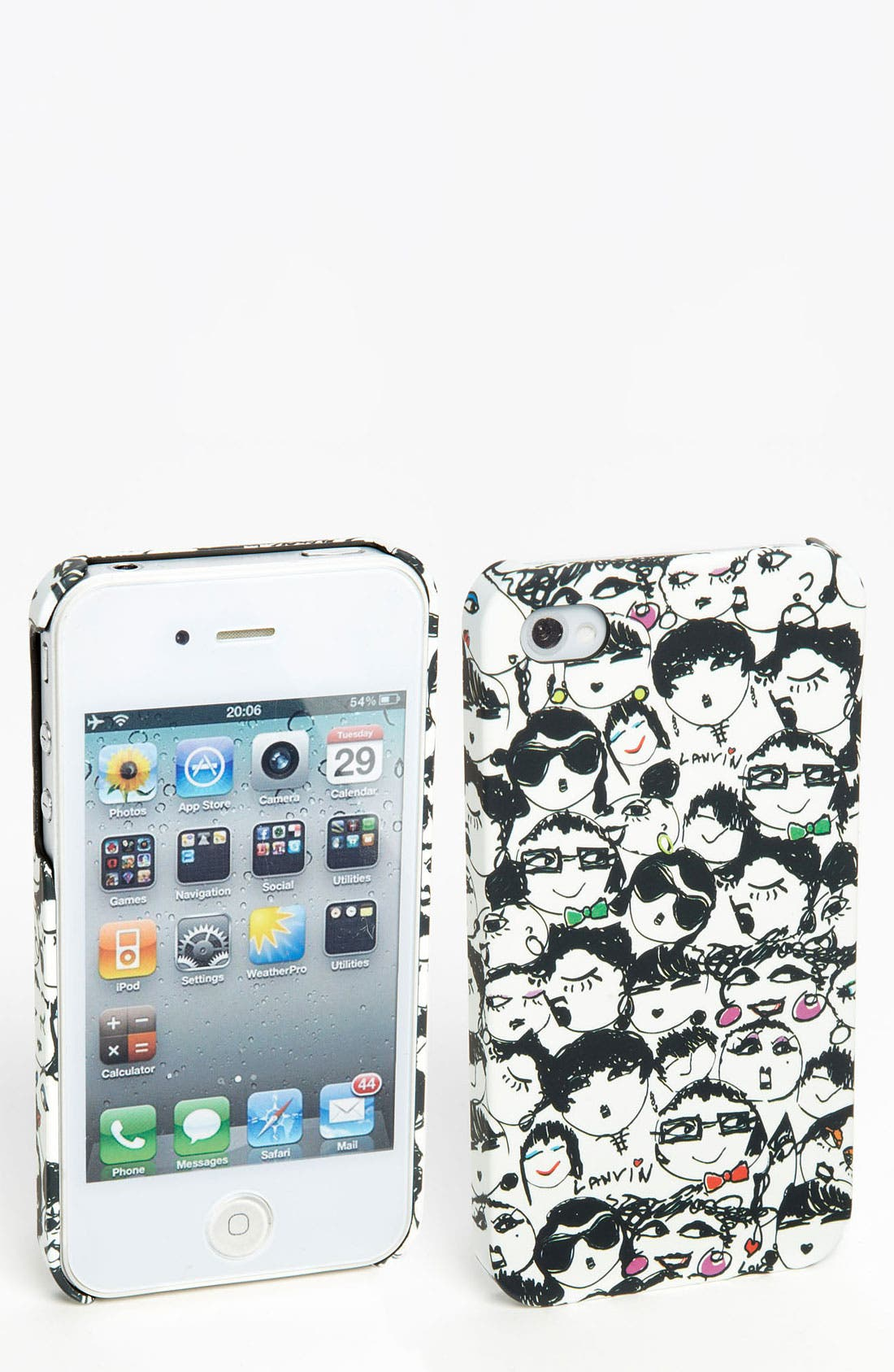 Alternate Image 1 Selected - Lanvin iPhone 4 & 4S Case