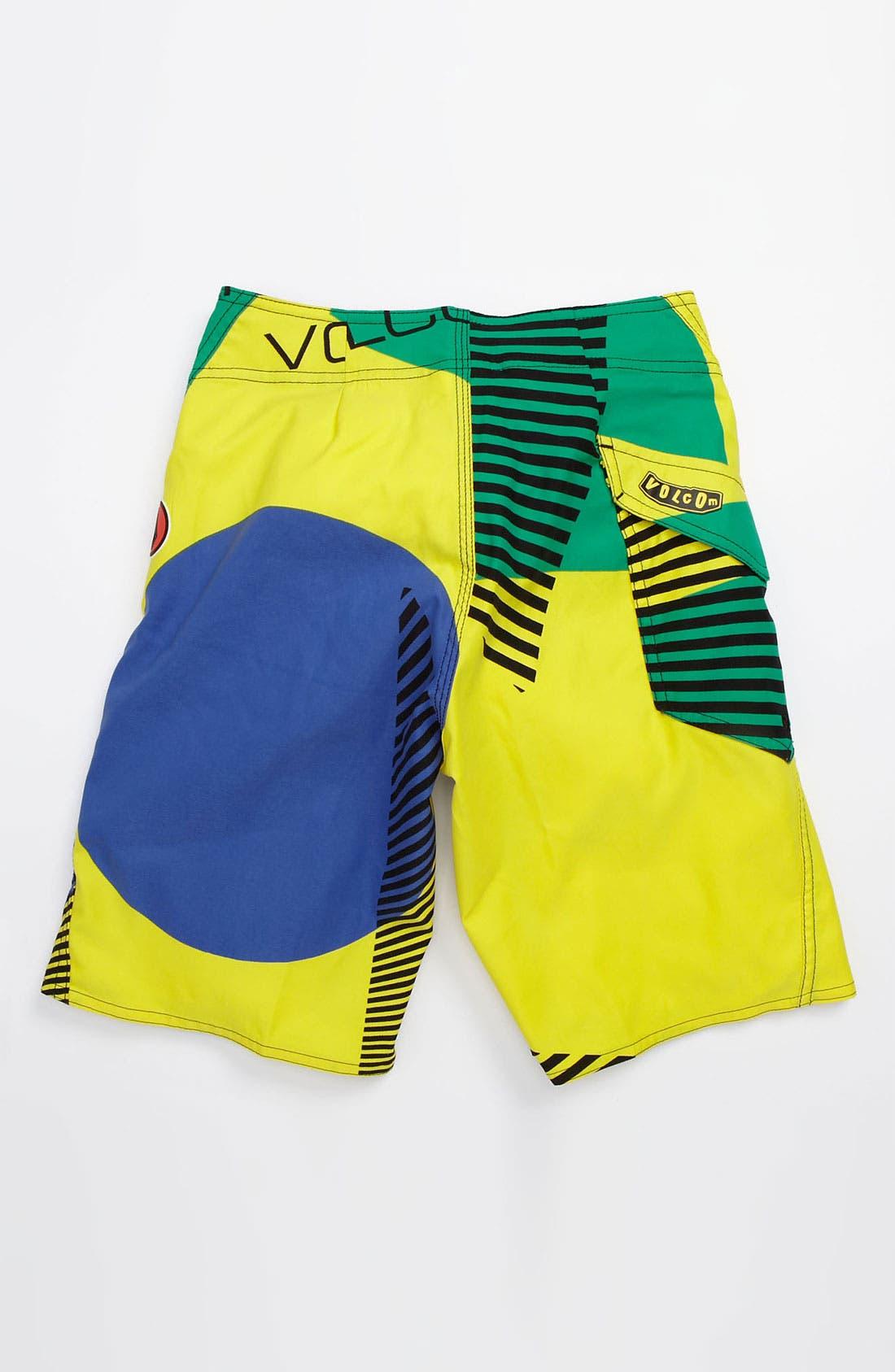 Alternate Image 2  - Volcom 'Maguro' Board Shorts (Little Boys)