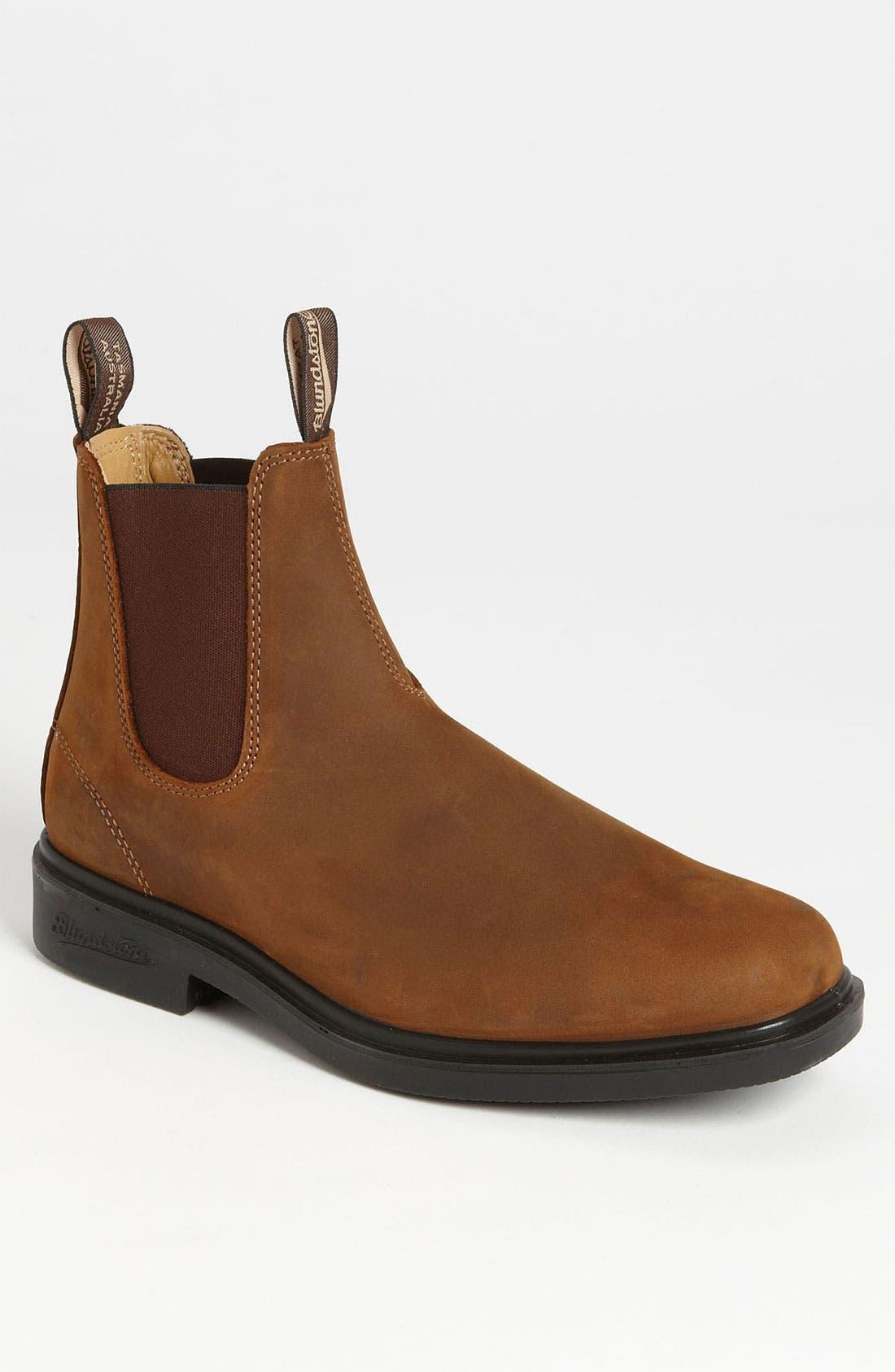 Footwear Chelsea Boot,                             Main thumbnail 1, color,                             Dark Brown
