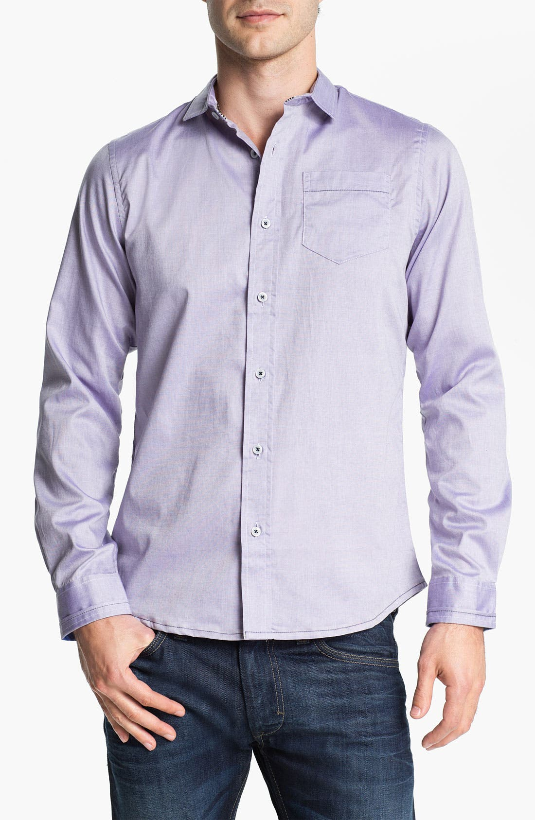 Alternate Image 1 Selected - Descendant of Thieves Oxford Woven Shirt