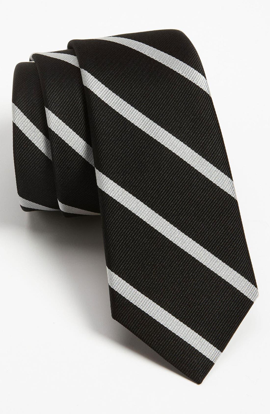 Alternate Image 1 Selected - The Tie Bar Woven Silk Tie (Online Exclusive)