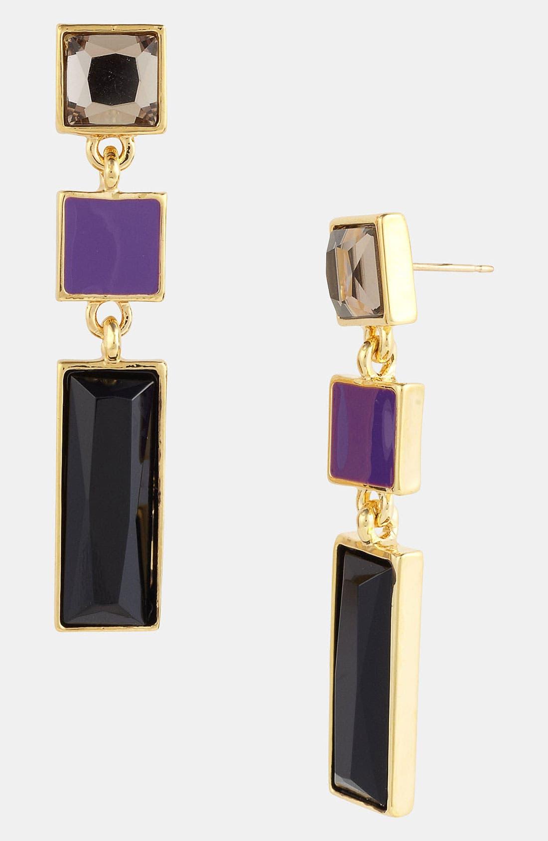 Alternate Image 1 Selected - kate spade new york 'steps' linear earrings