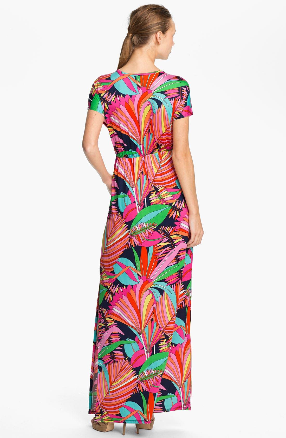 Alternate Image 2  - Trina Turk 'Amrita' Print Maxi Dress