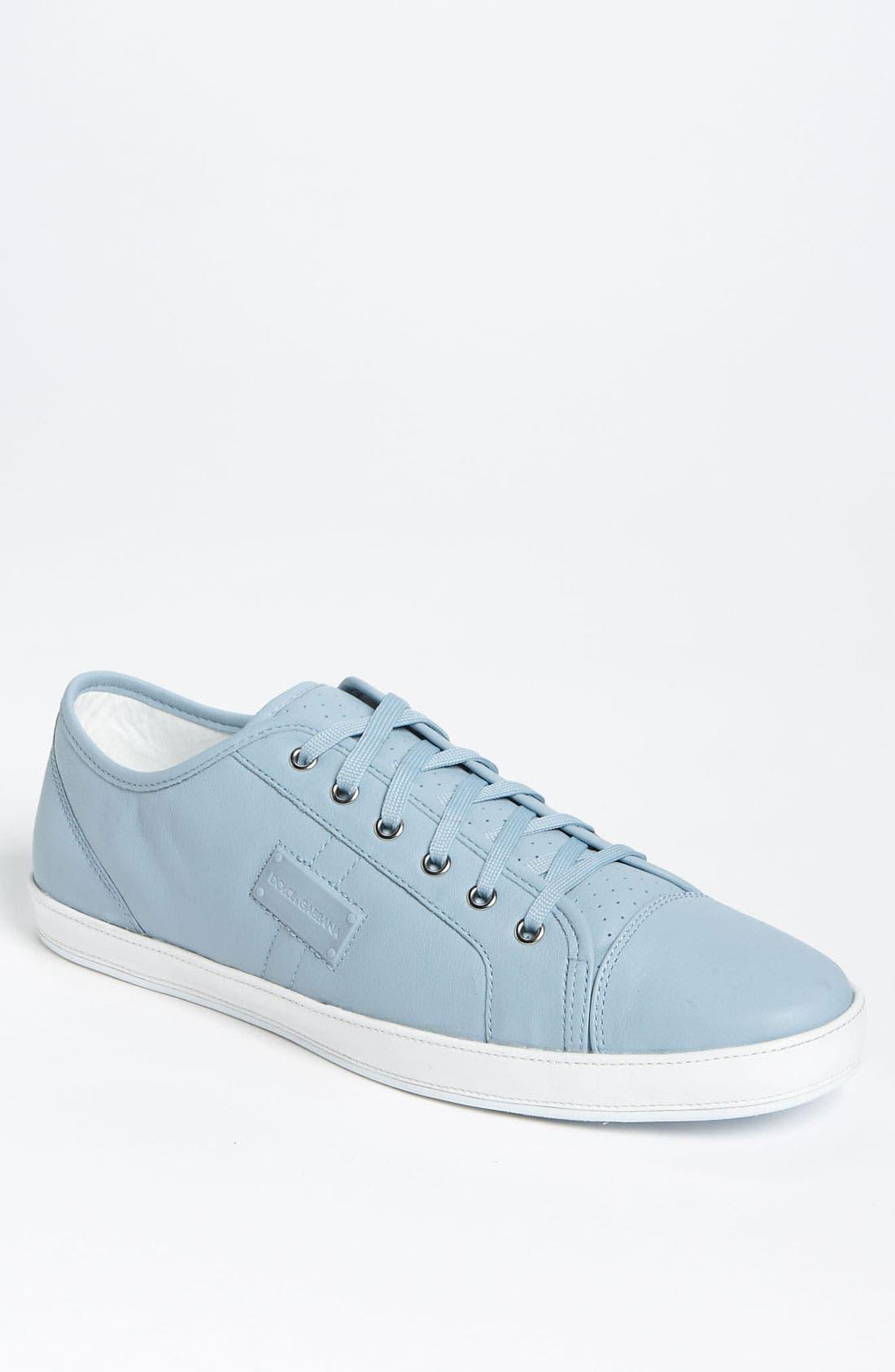 Main Image - Dolce&Gabbana Calfskin Sneaker