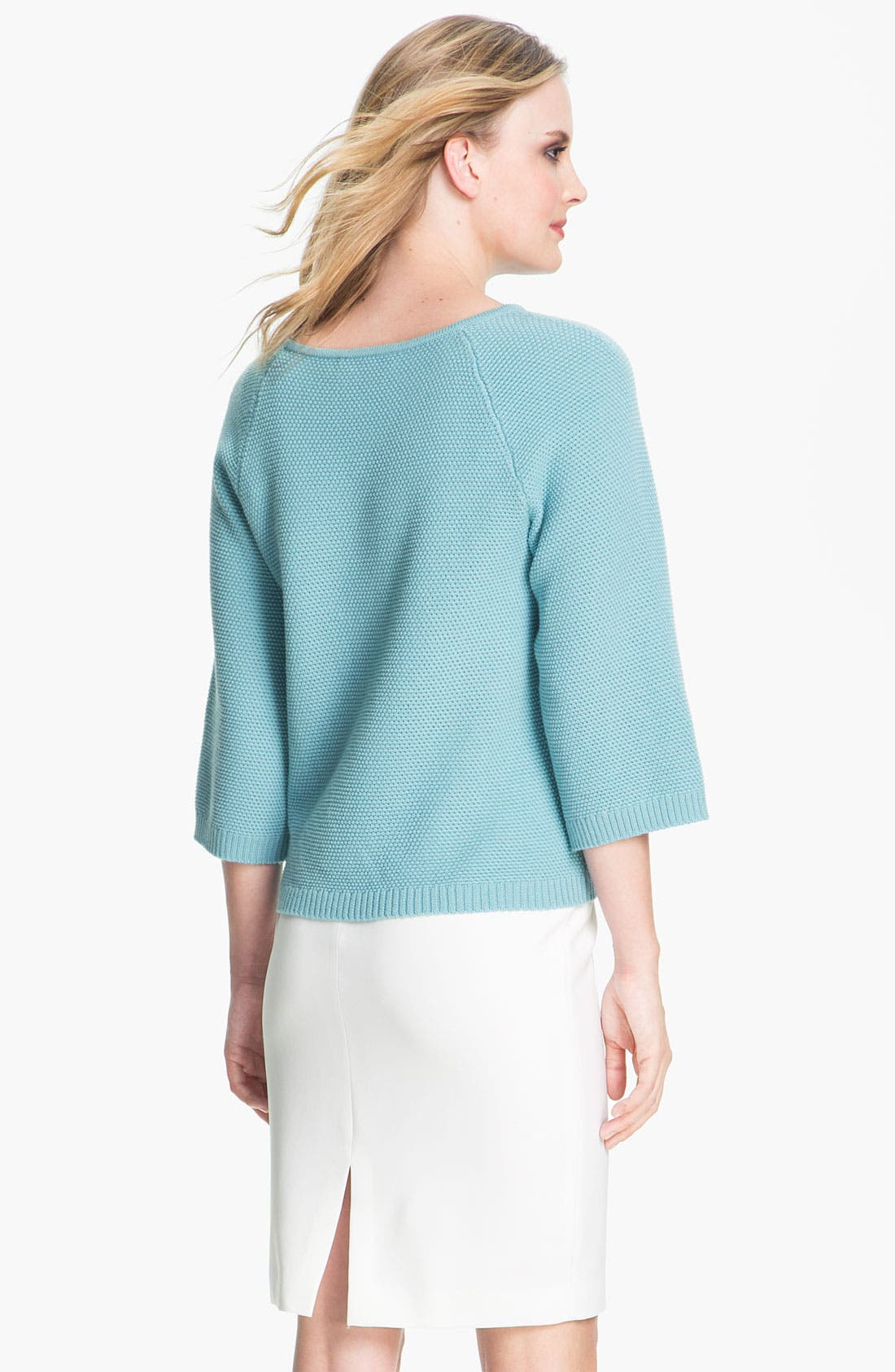 Alternate Image 3  - St. John Yellow Label Micro Knit Sweater