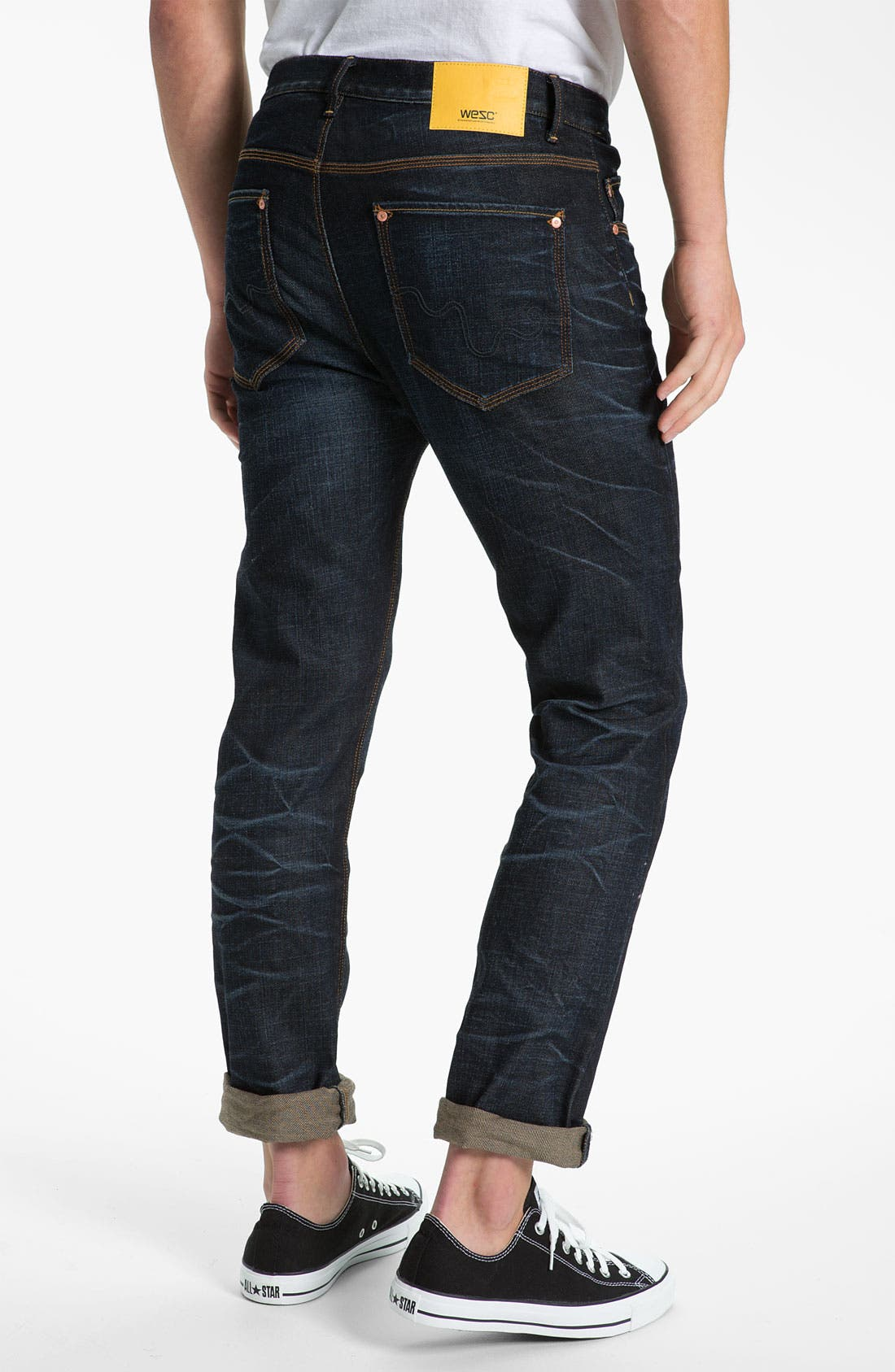 Main Image - WeSC 'Eddy' Slim Fit Jeans (Three Months)