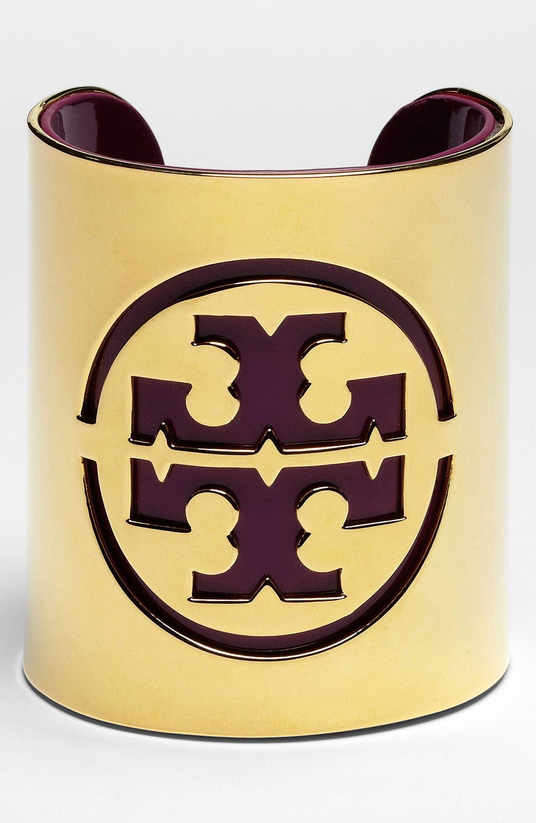 Alternate Image 1 Selected - Tory Burch Logo Stencil Cuff
