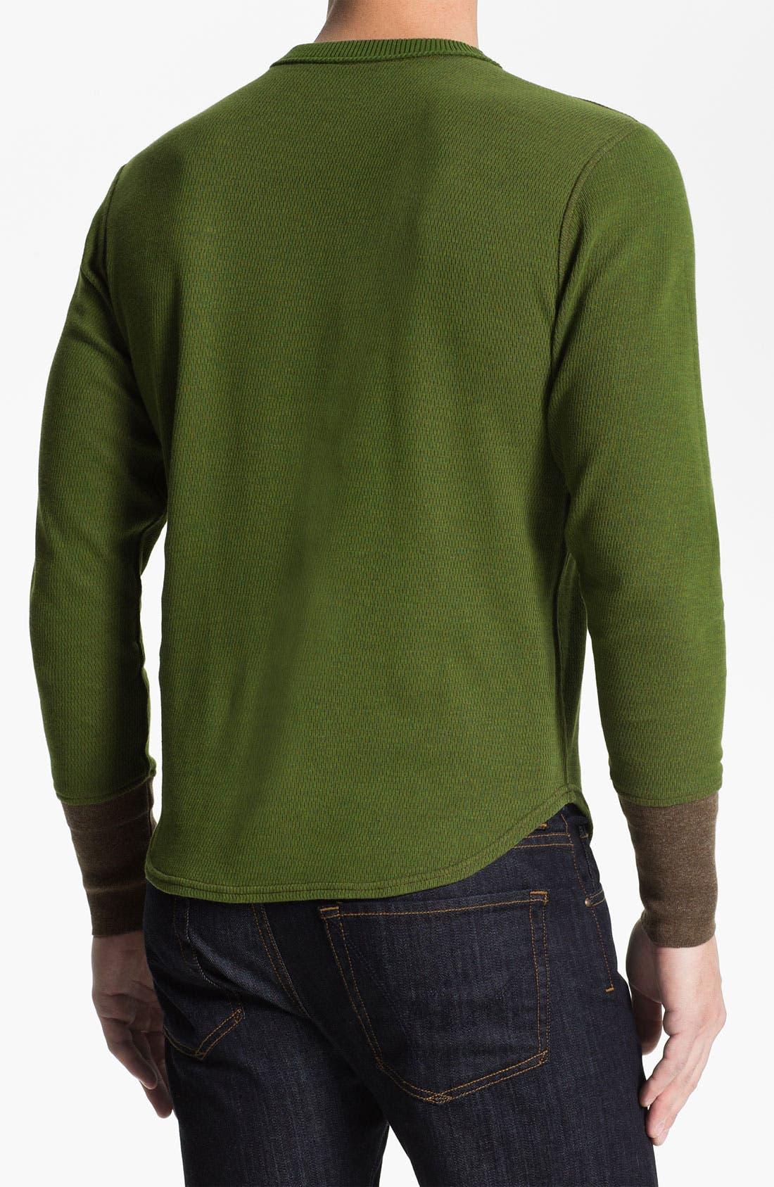 Alternate Image 3  - Robert Graham 'Chancel' Reversible Thermal T-Shirt