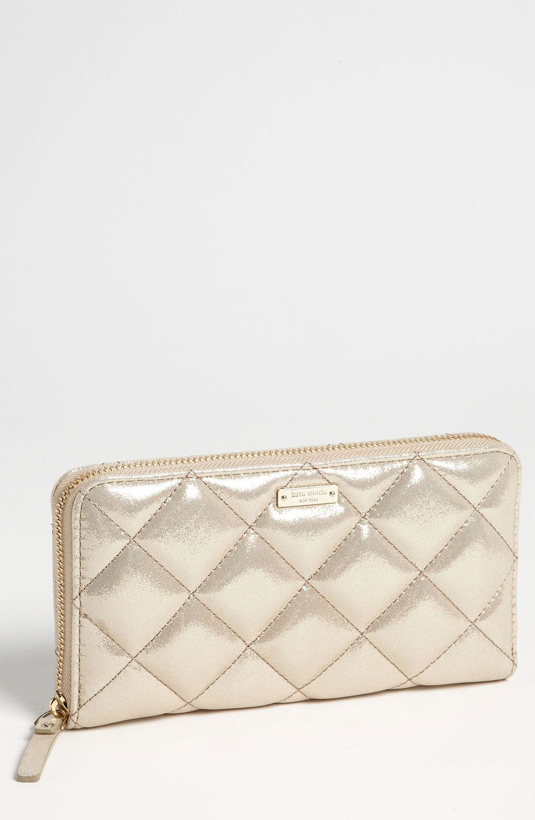Main Image - kate spade new york 'gold coast - lacey' zip around wallet