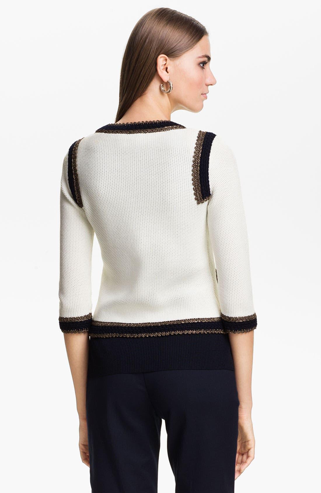 Alternate Image 2  - St. John Collection Tweed Jacket