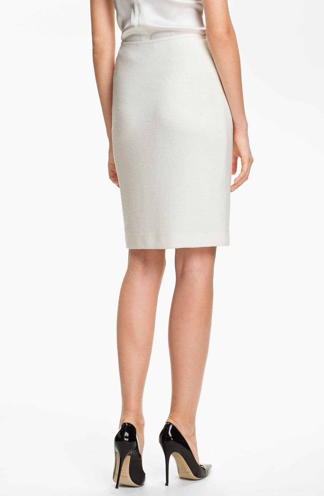 Alternate Image 3  - St. John Collection Cosmopolitan Tweed Pencil Skirt