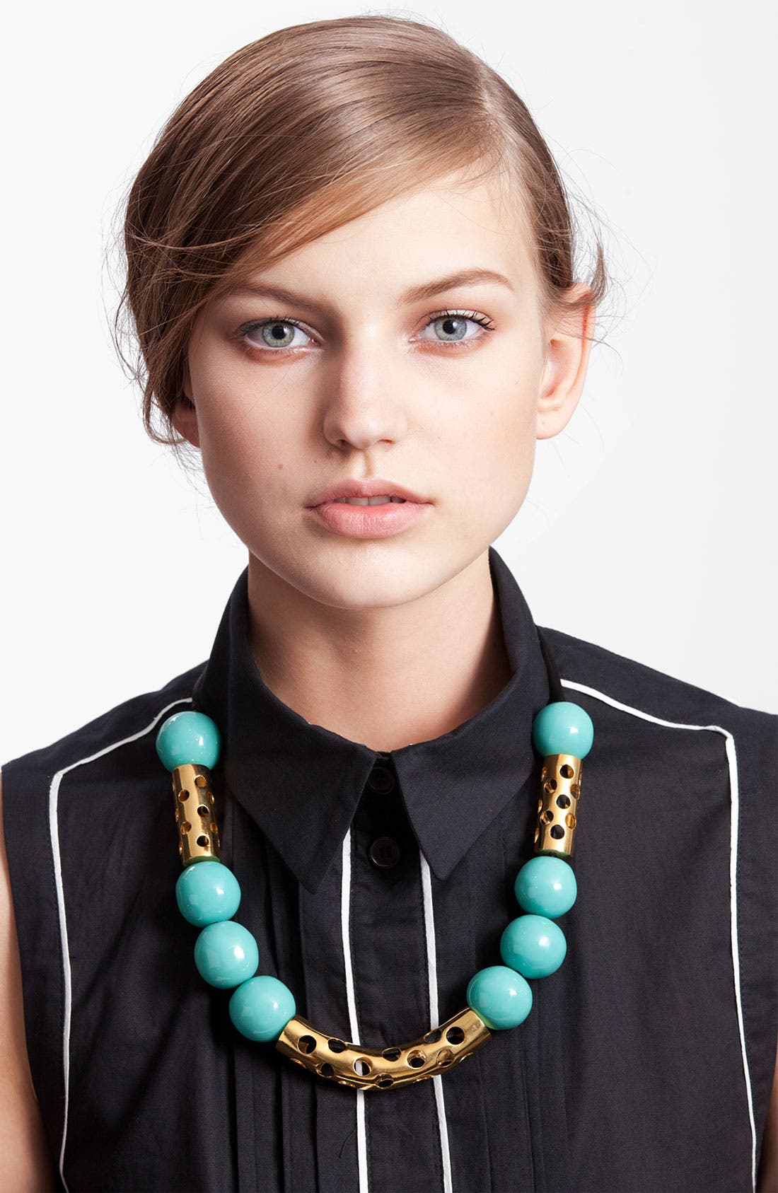 Alternate Image 1 Selected - Marni Edition Bone & Metal Necklace