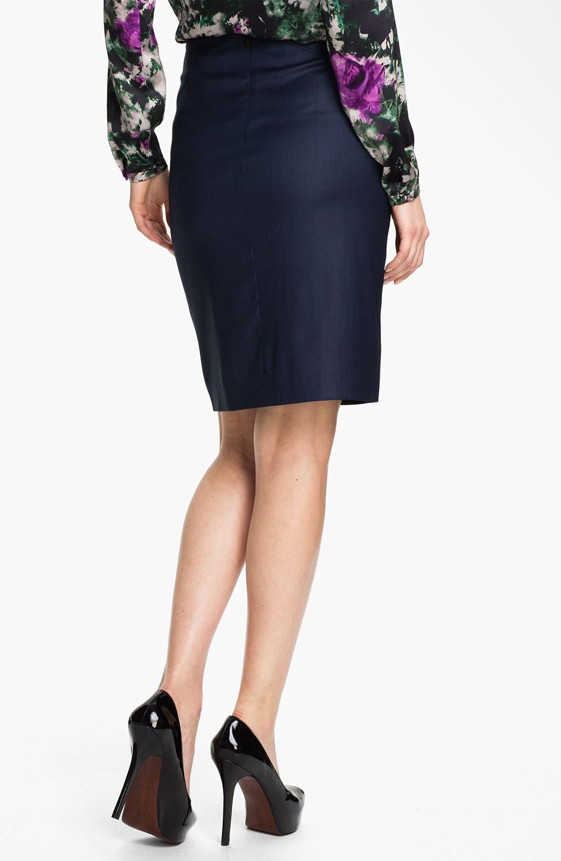 Alternate Image 2  - BOSS HUGO BOSS 'Vilinata' Skirt