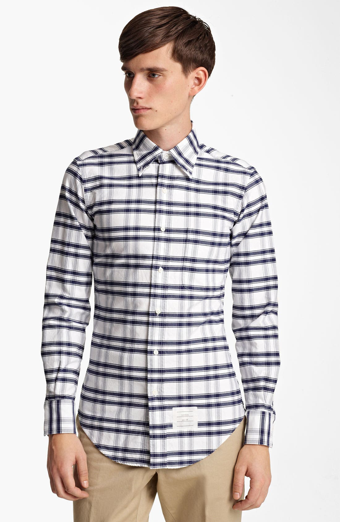 Alternate Image 3  - Thom Browne Check Oxford Shirt