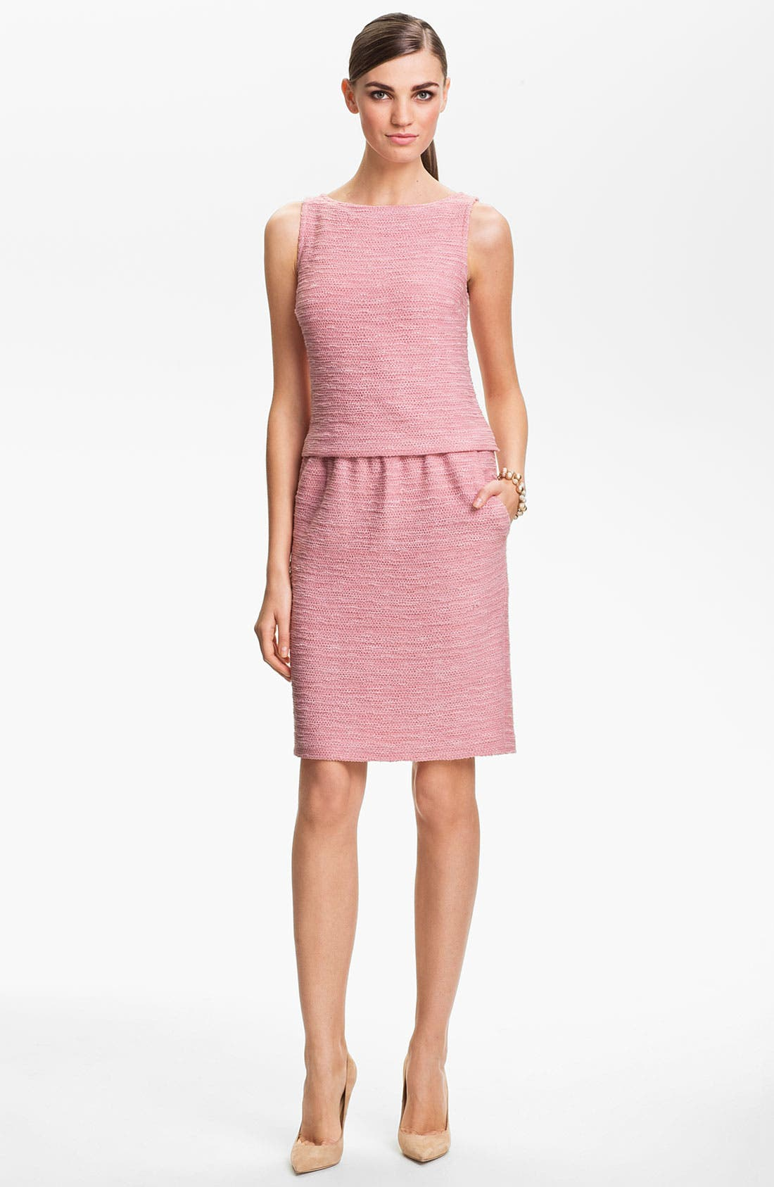 Alternate Image 1 Selected - St. John Collection 'New Shantung' Knit Dress