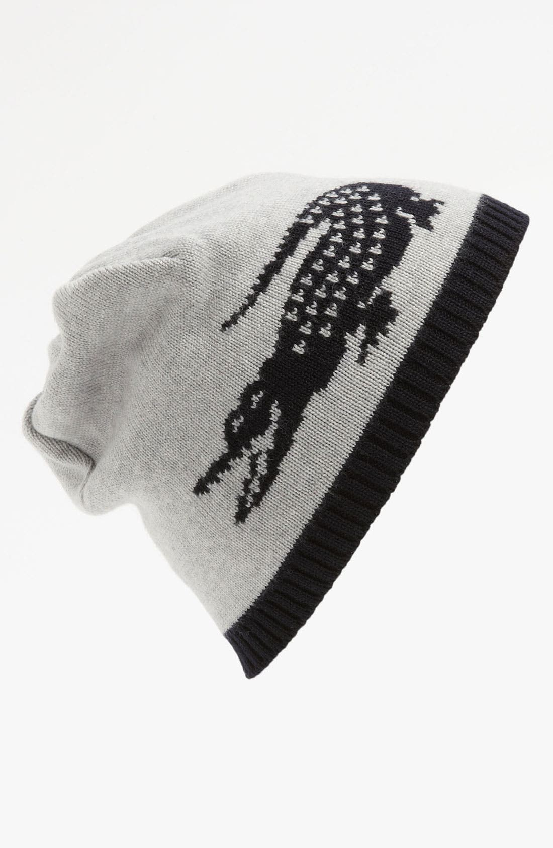 Alternate Image 2  - Lacoste 'Intarsia' Wool Beanie