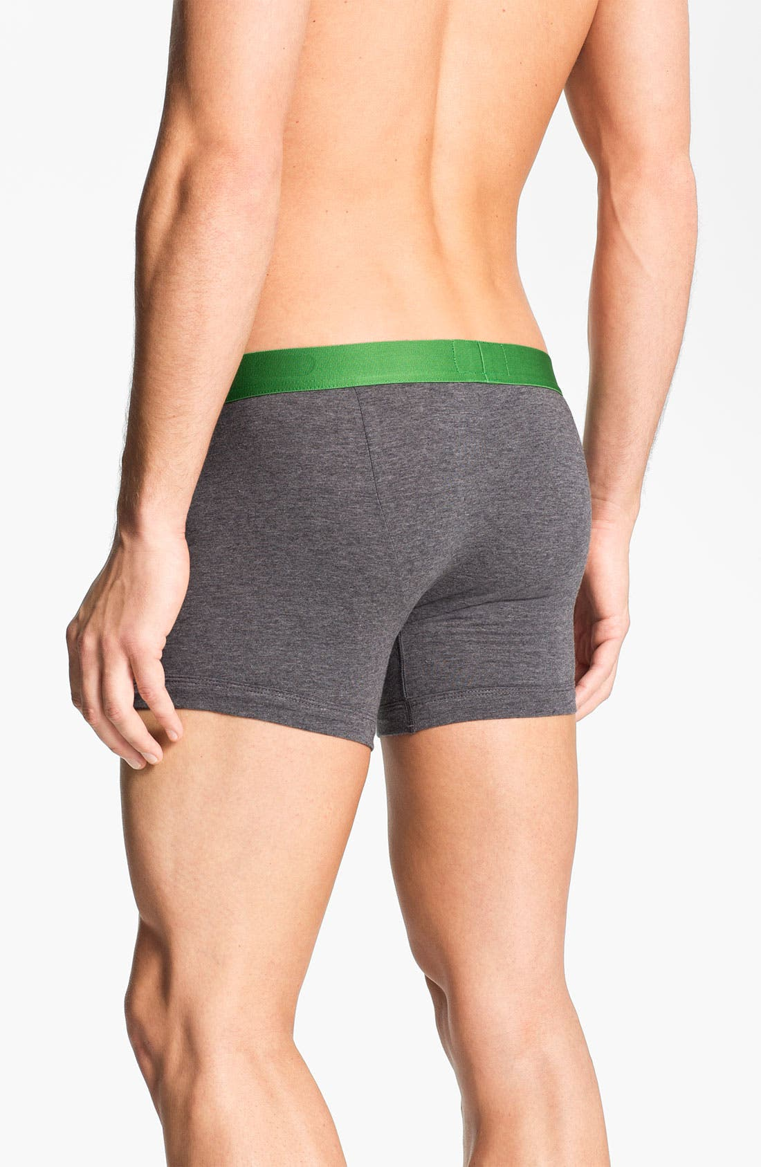 Alternate Image 2  - Emporio Armani Stretch Cotton Boxer Briefs