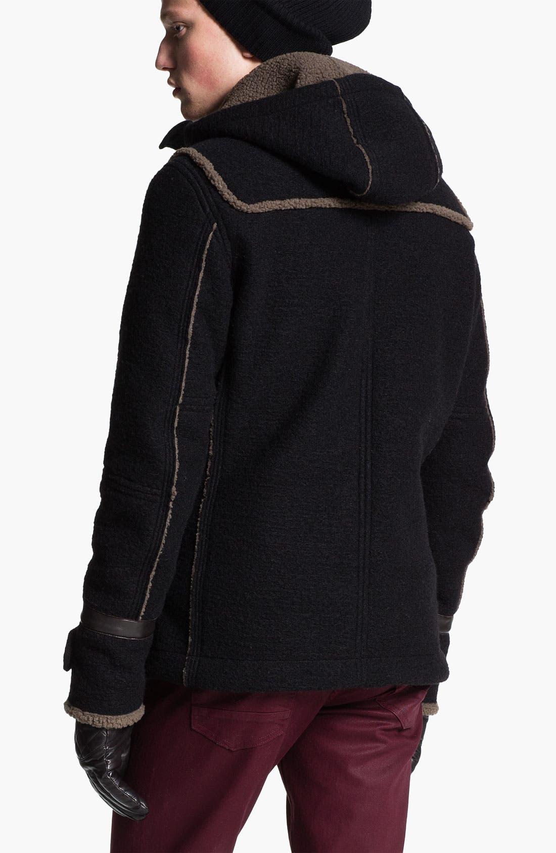 Alternate Image 2  - DIESEL® 'Whitaker' Duffle Coat