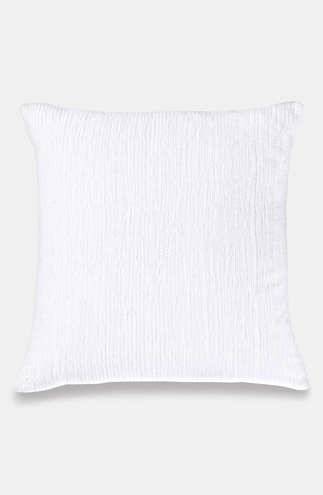 Alternate Image 1 Selected - DKNY 'Pure Enchantment - Embroidered Pucker' Pillow