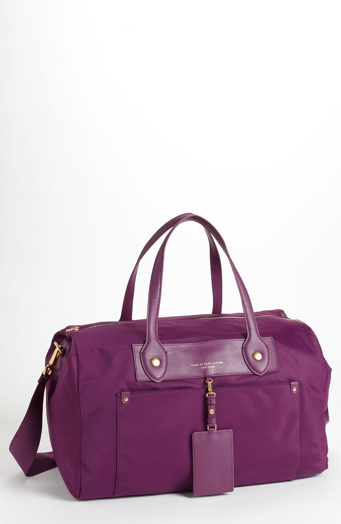 Main Image - MARC BY MARC JACOBS 'Preppy Nylon - Pearl' Duffel Bag