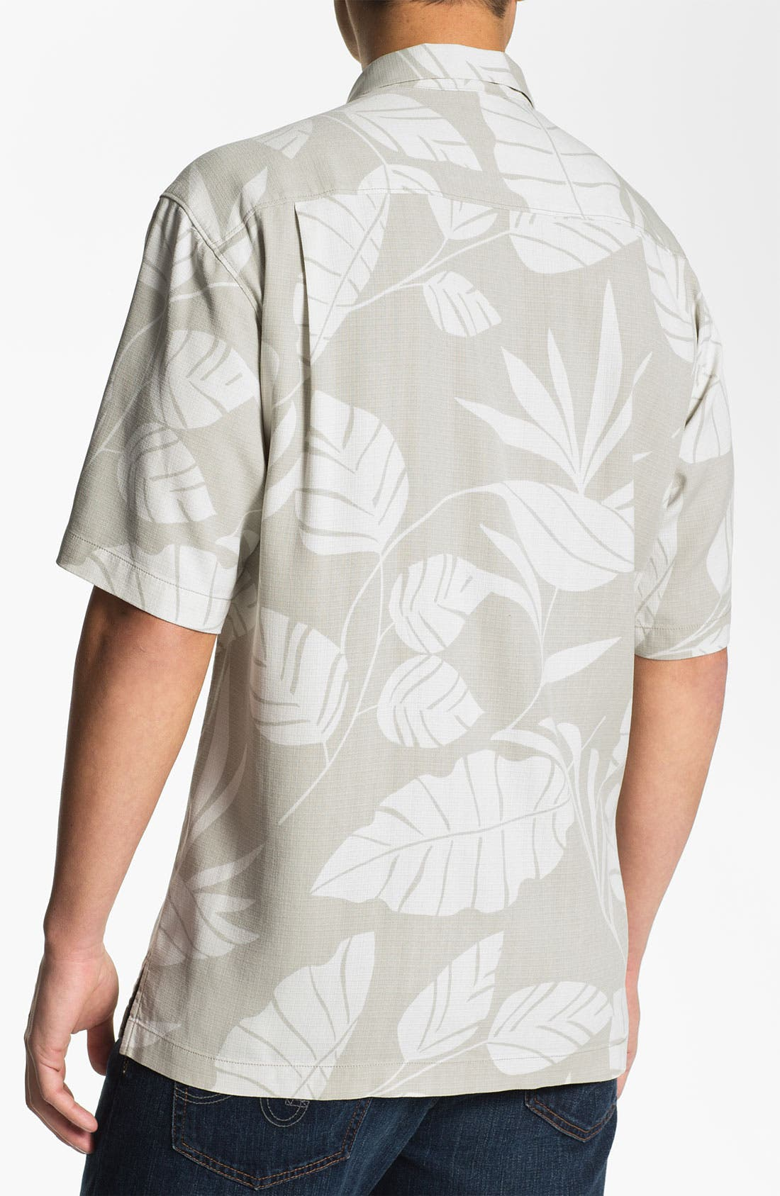 Alternate Image 2  - Tommy Bahama 'Tommy from the Block' Silk Campshirt