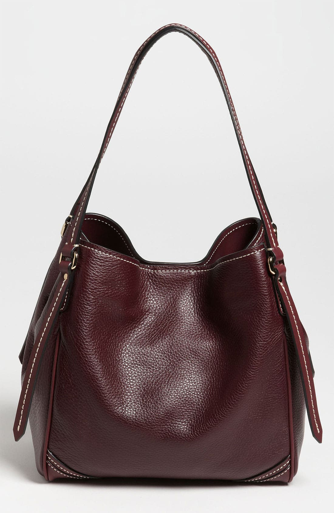 Alternate Image 4  - Burberry 'Saddle Stitch' Leather Tote