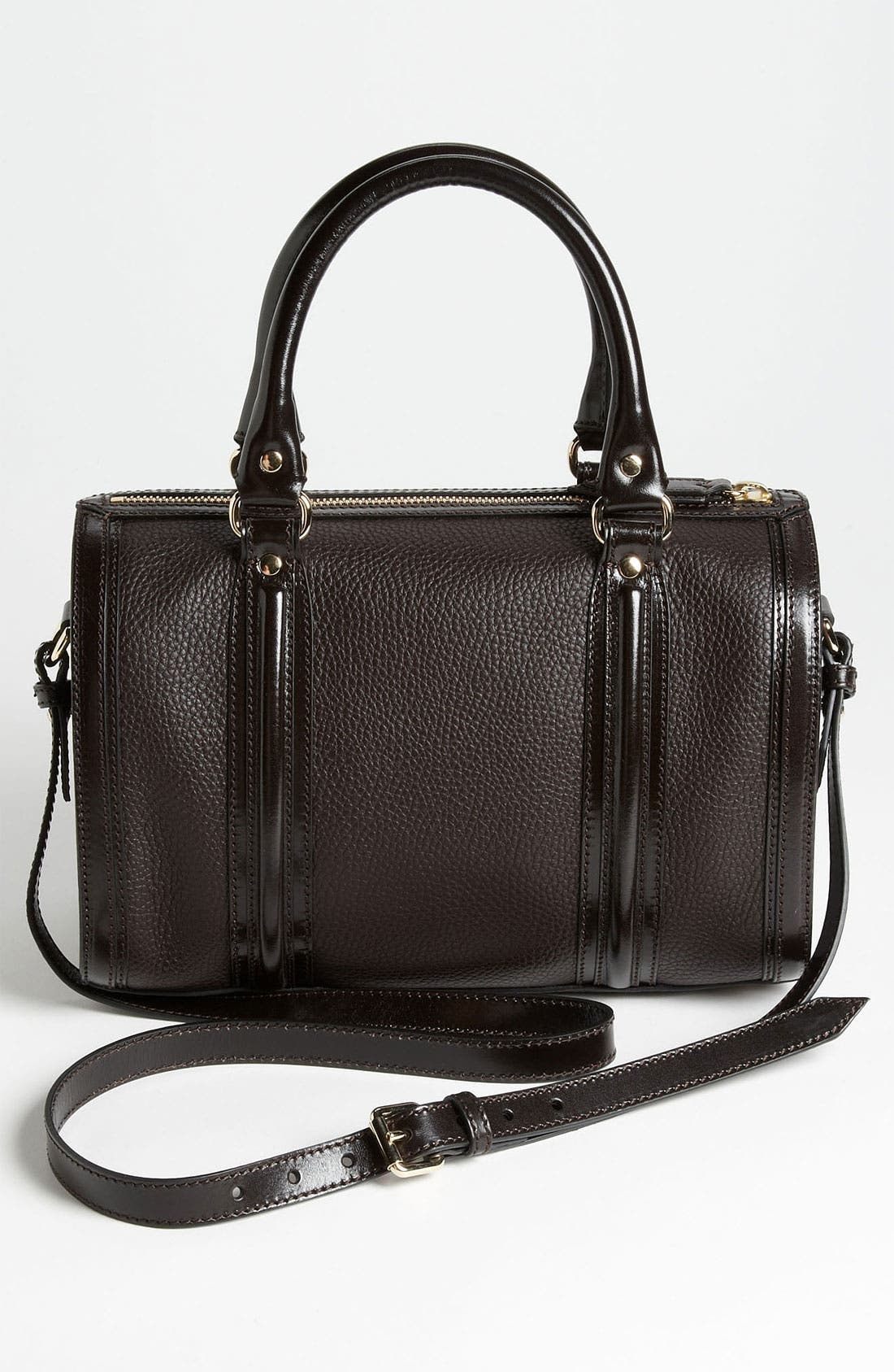 Alternate Image 4  - Burberry 'London Grainy' Leather Satchel, Medium