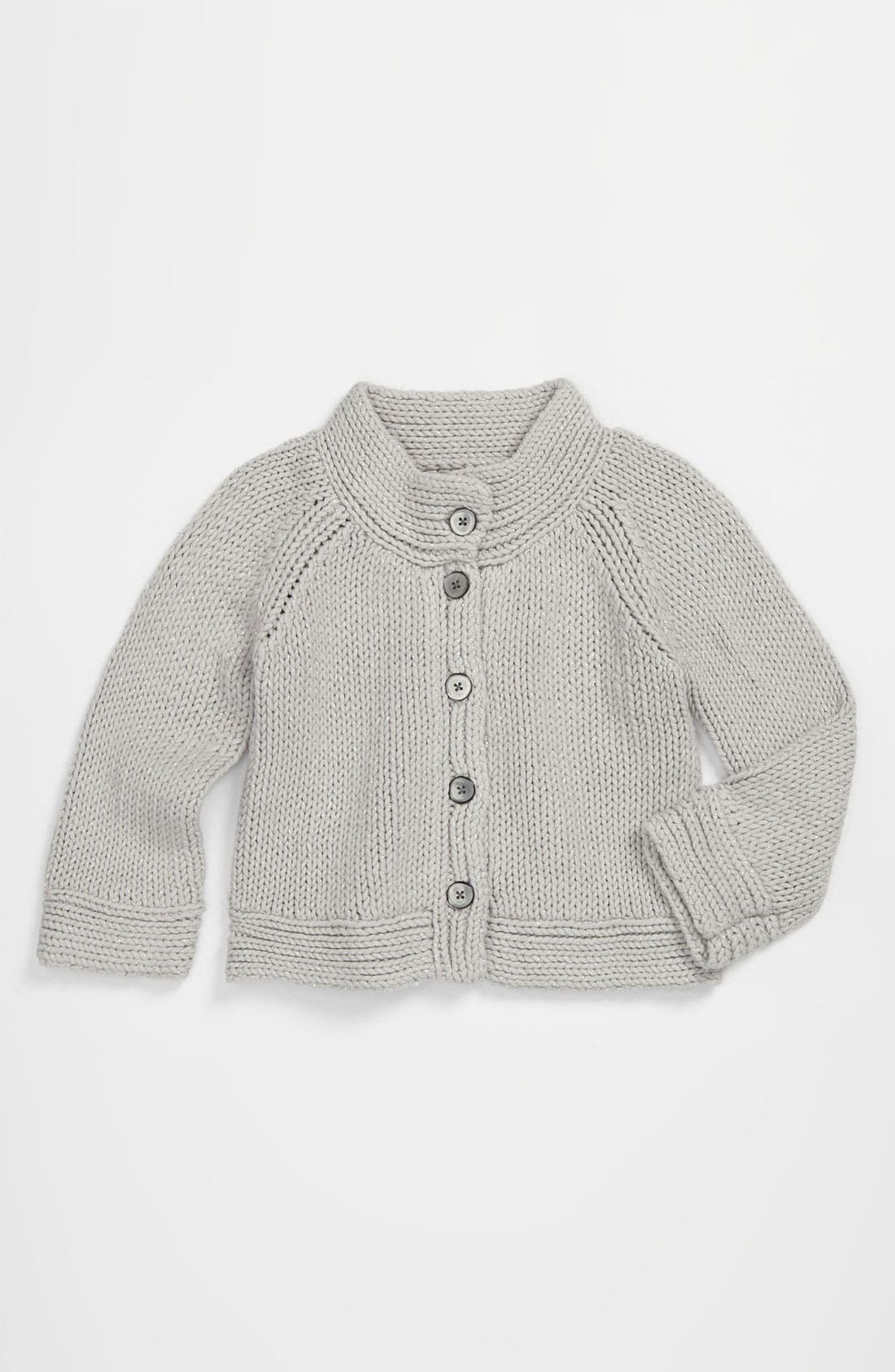 Alternate Image 1 Selected - Tea Collection 'Sparkle Chic' Sweater (Little Girls & Big Girls)