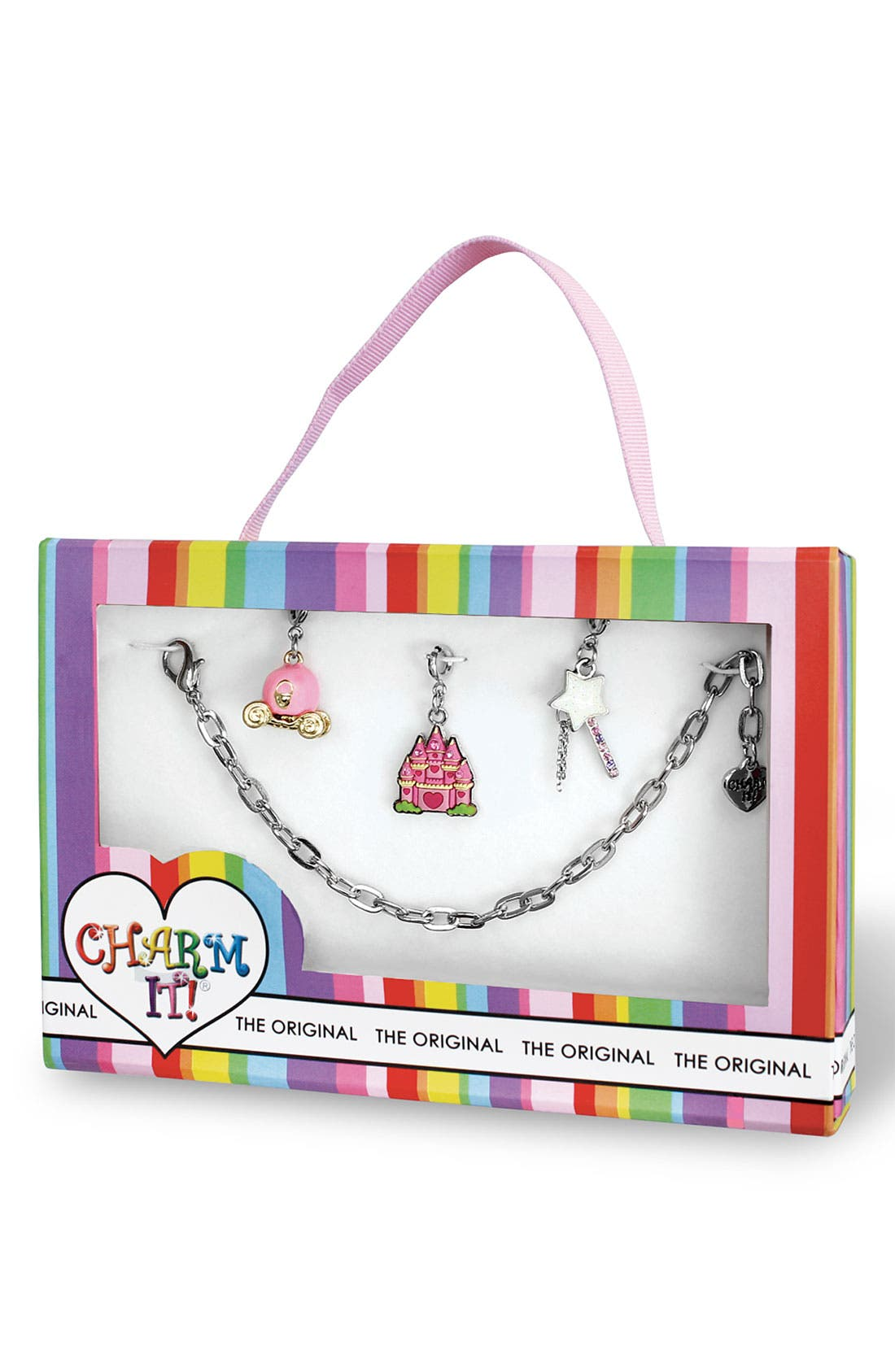 Alternate Image 2  - CHARM IT!® 'Fairy Princess' Charm Bracelet (Girls)