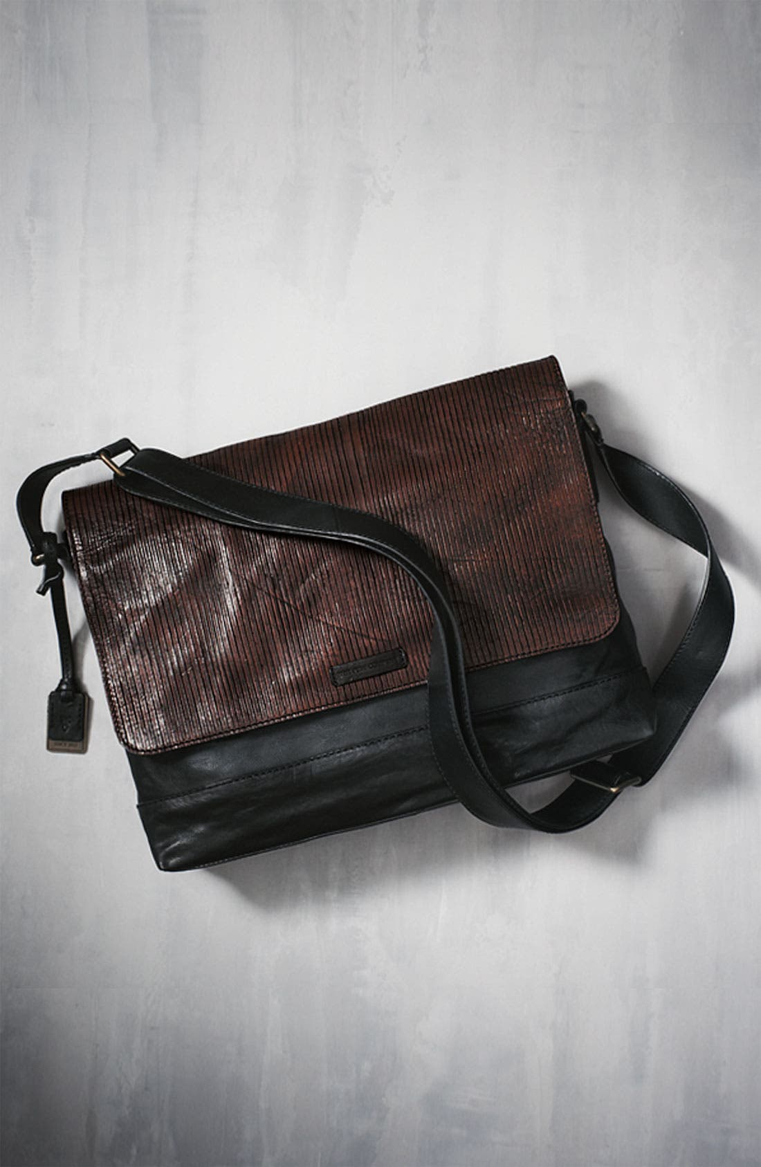 Alternate Image 5  - Frye 'James' Leather Messenger Bag