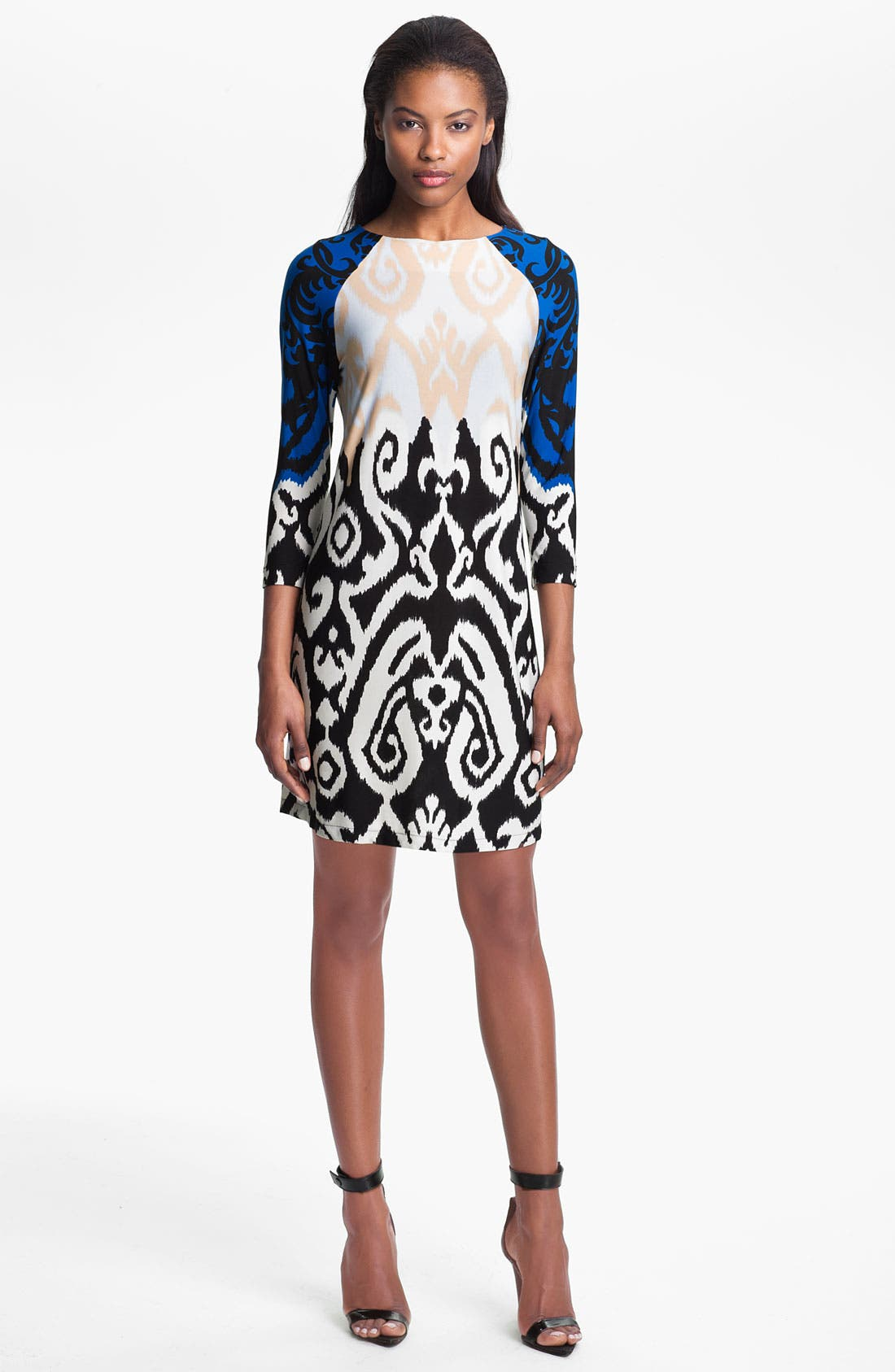 Main Image - Tibi Colorblock Jersey Shift Dress